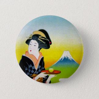 JapanTea.jpg 6 Cm Round Badge