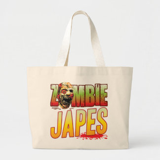 Japes Zombie Head Tote Bags