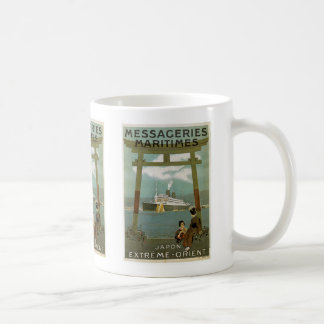"""Japon Extreme-Orient"" Messegeries Maritimes Coffee Mug"