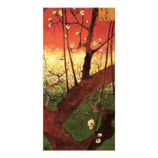 Japonaiserie Plum Tree Hiroshige -Vincent van Gogh Personalised Photo Card