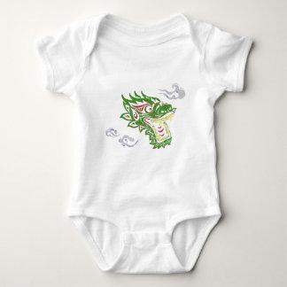 Japonias dragon baby bodysuit