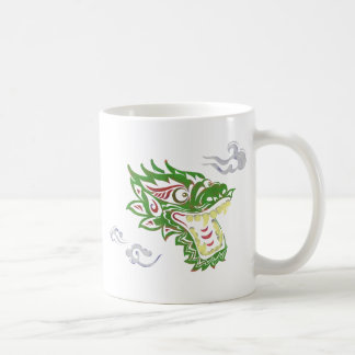 Japonias dragon coffee mug