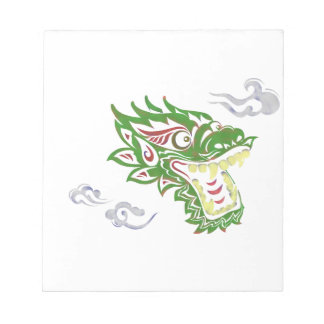 Japonias dragon notepad