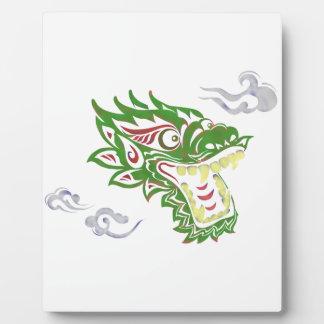 Japonias dragon plaque