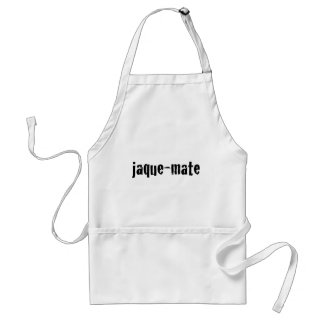 jaque-mate apron