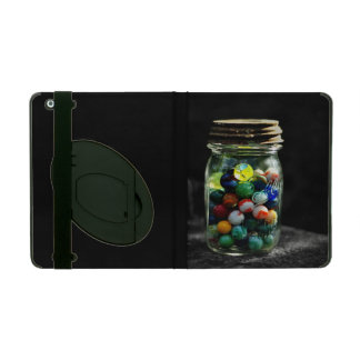 Jar Full of Sunshine and Glass Marbles iPad Cases