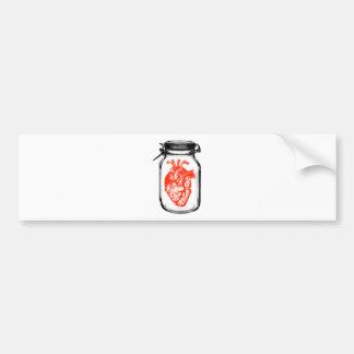 Jar of Heart Bumper Sticker