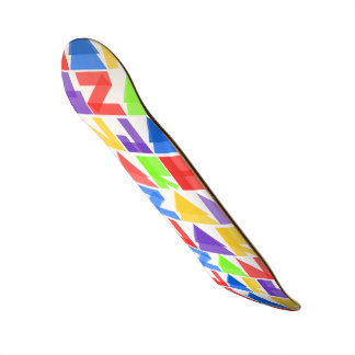 Jarb - different colour Zan pro model Skateboard