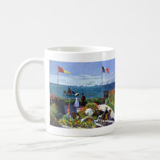 Jardin à Sainte-Adresse by Claude Monet Coffee Mug