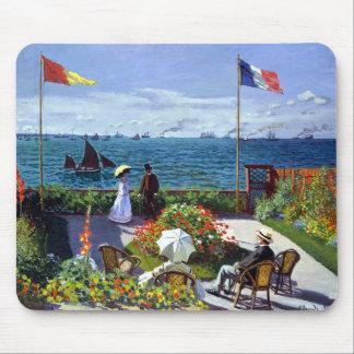 Jardin à Sainte-Adresse by Claude Monet Mouse Pad