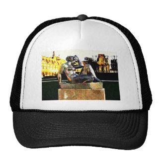 Jardin D' Tuilleries Painting Trucker Hat
