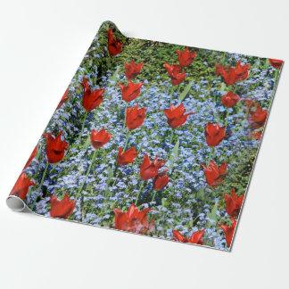 jardin de fleurs wrapping paper