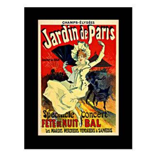 Jardin de Paris - Fete de Nuit Bal Postcard