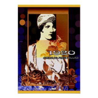 Jardin de Paris Follies 1920 Poster