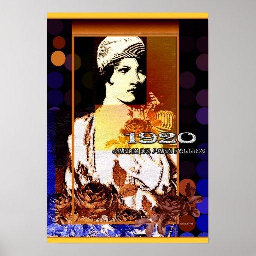 Jardin de Paris Follies 1920 Print
