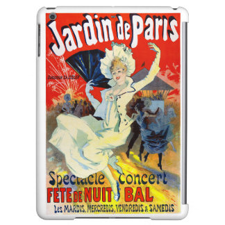 Jardin de Paris France Vintage Poster Restored