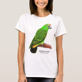 Jardines Parrot Ladies Babydoll T-Shirt