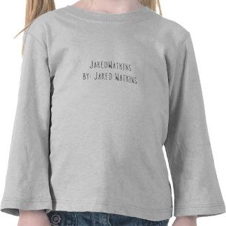 JaredWatkins todd. white logo toddler long sleeve T Shirt