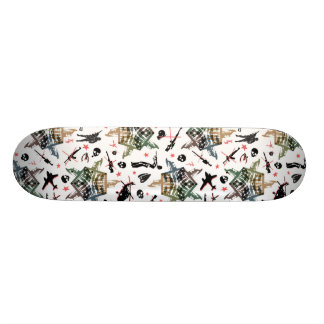 Jarovoj anti war design skateboard deck