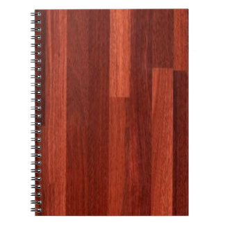 Jarrah Dark Reddish Wood Floor Notebook