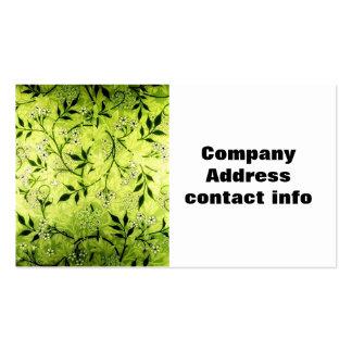 Jasmine 2 Floral business card