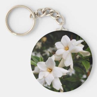 Jasmine Basic Round Button Key Ring
