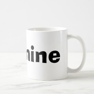 Jasmine Basic White Mug