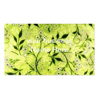 Jasmine floral business card