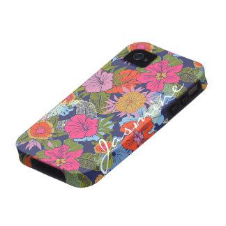Jasmine Flowers Vibe iPhone 4 Case