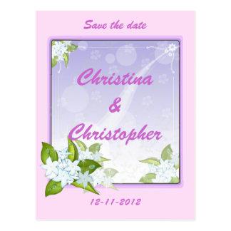 Jasmine Flowers Customizable Gifts Postcard