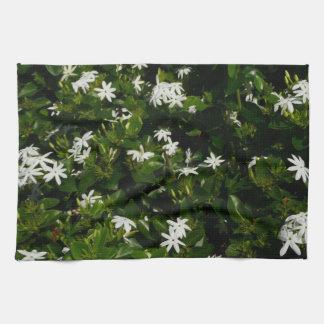 Jasmine Flowers Tea Towel