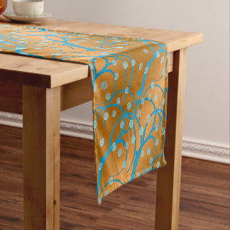 Jasmine Gold Short Table Runner
