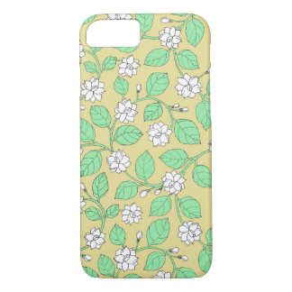 Jasmine illustration iPhone 7 case