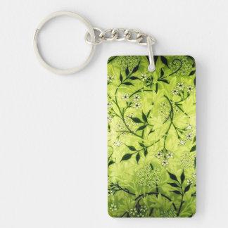 Jasmine keychain