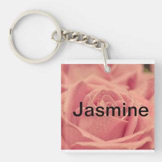 Jasmine name Key Chain