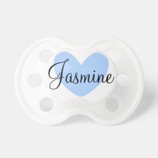 """Jasmine"" Personalized Name Pacifier"