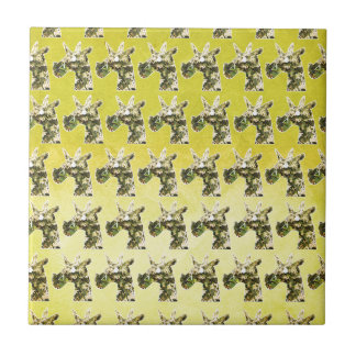 Jasmine Unicorn Ceramic Tile