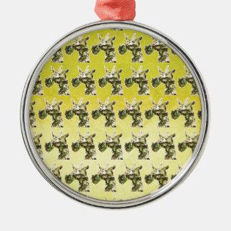 Jasmine Unicorn Metal Ornament
