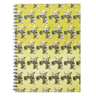 Jasmine Unicorn Spiral Notebook