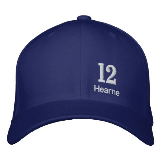 Jason Hearne Purple Embroidered Hat