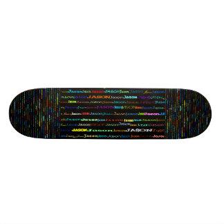 Jason Text Design I Skateboard