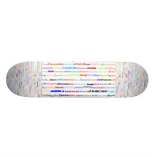 Jason Text Design II Skateboard
