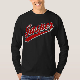 Jasper Baseball Logo Dark T-Shirt