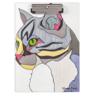 Jasper Cat Clip Board Clipboard