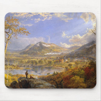 Jasper Francis Cropsey - Starrucca Viaduct Mouse Pad