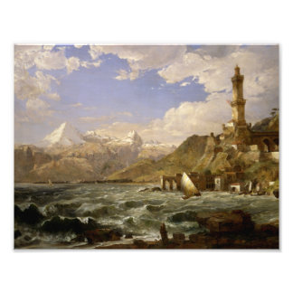 Jasper Francis Cropsey - The Coast of Genoa Photo