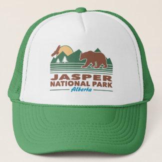 Jasper National Park Bear Trucker Hat