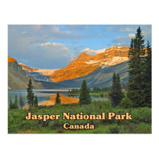 Jasper National Park Canada Postcard