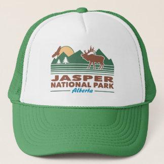 Jasper National Park Elk Trucker Hat