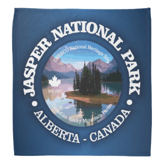Jasper National Park (Maligne Lake) Bandana